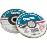 Clarke PD3 Plasma Metal Cutting Discs 10 Pack