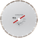"300mm (12"") Segmented Silver Diamond Dry Cutting Disc"