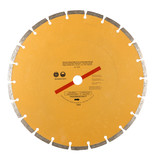 "300mm (12"") Segmented Gold Diamond Dry Cutting Disc"