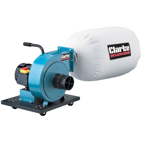 Image of Clarke Clarke CDE35B Portable Dust Extractor & Chip Collector (230V)