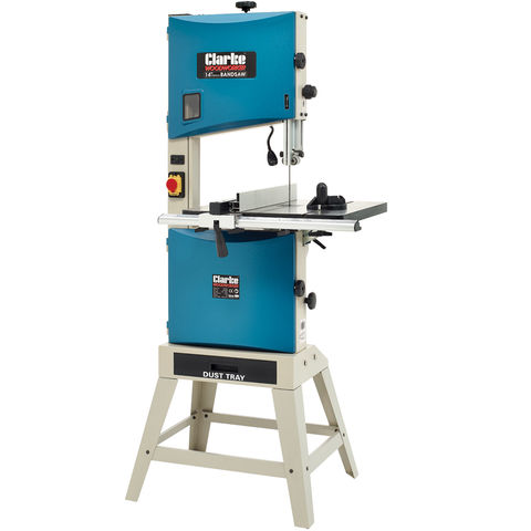 Image of Clarke Clarke CBS350 340mm Professional Bandsaw & Stand