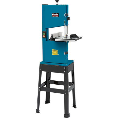 """Image of Clarke Clarke CBS250B 10"""" Woodworking Band Saw Including Stand (230V)"""