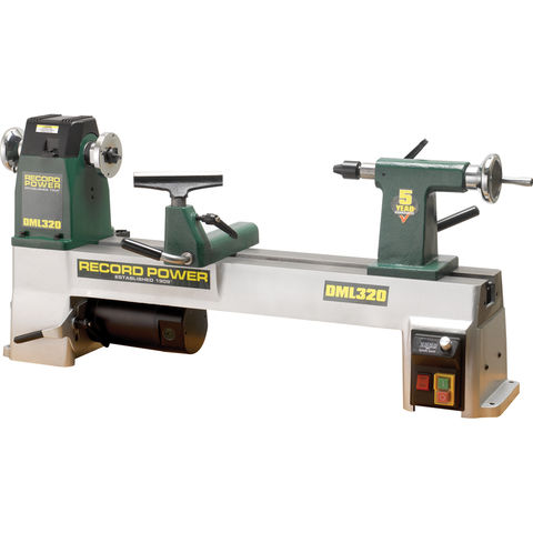 Image of Record Power Record Power DML320 Cast Iron Electronic Variable Speed Lathe