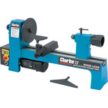 "Clarke CWL325V 13"" Wood Lathe with Electronic Variable Speed"
