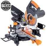 Evolution RAGE3-S+ 210mm Multipurpose Sliding Mitre Saw (110V)