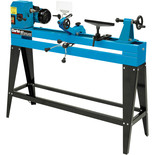 "Clarke CWL1000CF 40"" 1000mm Wood Lathe with Variable Speed & Copy Follower (230V)"