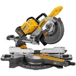 DeWalt DCS727T2-GB 54V XR FLEXVOLT 250mm Double Bevel Slide Mitre Saw with 2 x 6Ah Batteries