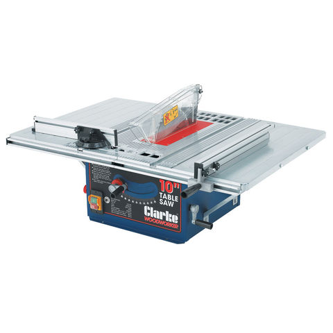 Clarke Cts10d 10 254mm Table Saw Machine Mart Machine Mart