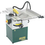 "Record Power TS250C-PK/A 10"" Cast Iron Cabinet Makers Saw, Sliding Beam & Right Hand Extension (230V)"