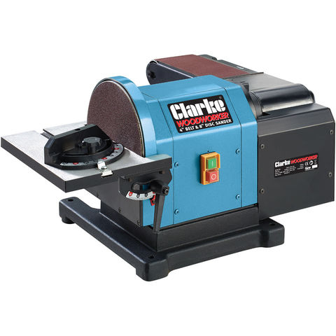 Clarke Cs48 Belt And Disc Sander Machine Mart Machine Mart