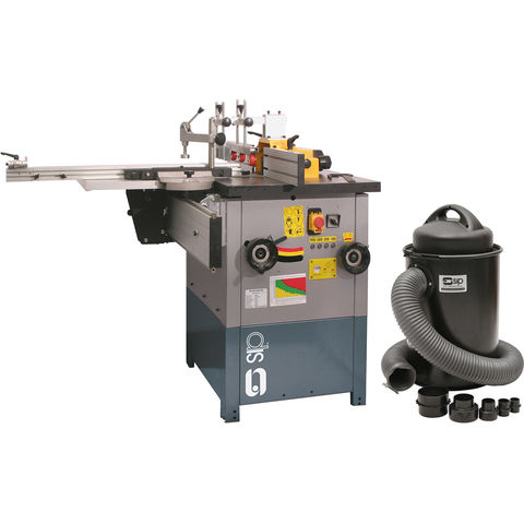 Image of SIP SIP 01456 Spindle Moulder and 50L Dust & Chip Collector Package Deal