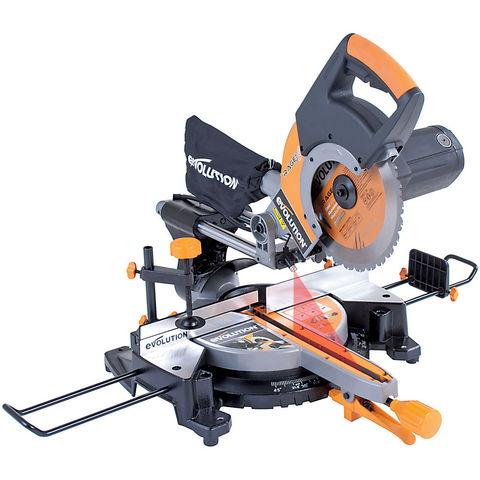 Image of 110Volt Evolution RAGE3+ 255mm Multipurpose Sliding Mitre Saw (110V)