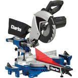 "Clarke C2MS250MP 10"" 255mm Double Bevel Sliding Mitre Saw (230V)"