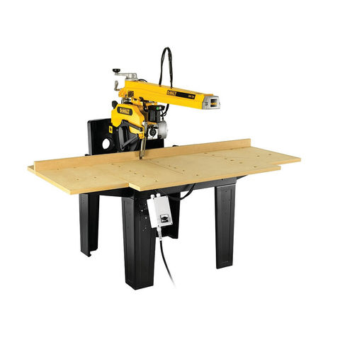Image of 400Volt 3 Phase DeWalt DW729KN 3-Phase Radial Arm Saw