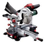 Metabo KGS 18 LTX 216 Cordless Mitre Saw with 2x5.5Ah Batteries