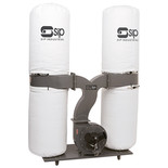 SIP 3HP Double Bag Dust Collector (230V)