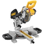 DeWalt DCS365M2-GB 18V 184mm Cordless Mitre Saw With 2x4.0Ah Batteries