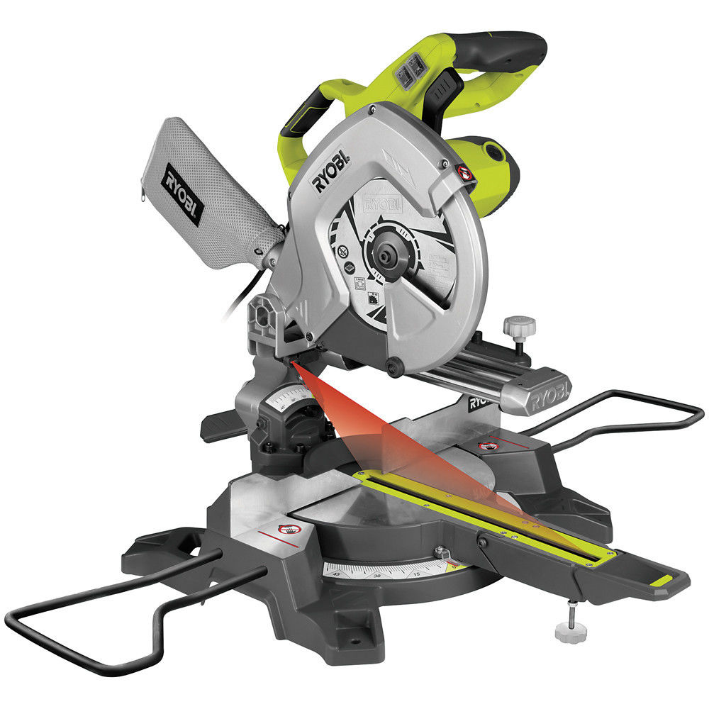Ryobi EMS254L 254mm Compact Sliding Mitre Saw - Machine Mart