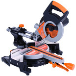 Evolution RAGE 3-S300 210mm Multipurpose Sliding Mitre Saw (110V)