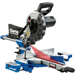 "Clarke CMS10S2B 10"" Sliding Mitre Saw with Laser"