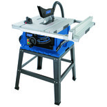 "Scheppach HS105 10"" Table Saw (230V) with 2 Free 254mm TCT Blades"
