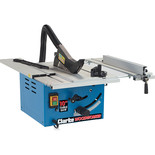 "Clarke CTS14 10"" (250mm) Table Saw with Extension Tables"