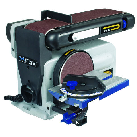 "Image of Fox Fox F31-462 4"" Belt & 6"" Disc Sander (230V)"