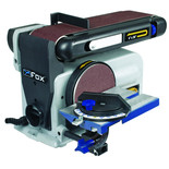 "Fox F31-462 4"" Belt & 6"" Disc Sander (230V)"