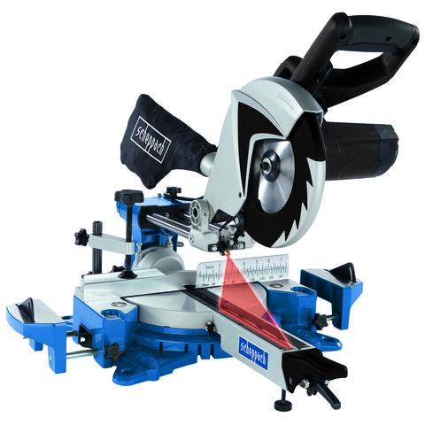 Image of Scheppach Scheppach HM80MP 216 mm Multi-App Sliding Mitre Saw (230V)