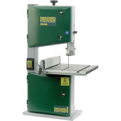 Machine Mart Xtra Record Power BS250 – 120mm Bench Top Bandsaw