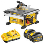 DeWalt XR FlexVolt DCS7485T2 54V Table Saw with 2x6.0Ah Batteries