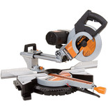 Evolution RAGE3-DB Double Bevel Multi-Purpose Sliding Mitre Saw (110V)