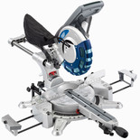 Draper Expert SMS250AB 250mm Double Bevel Sliding Compound Mitre Saw