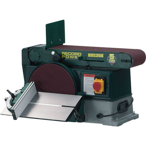"""Image of Record Power Record Power BDS250 10"""" x 6"""" Belt & Disc Sander"""