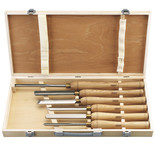 Draper AWL44 6 Piece HSS Woodturning Chisel Set