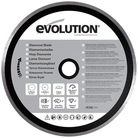 "Image of Evolution Evolution Rage Diamond Blade 210mm (8"")"