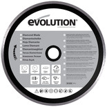 "Evolution Rage Diamond Blade 210mm (8"")"