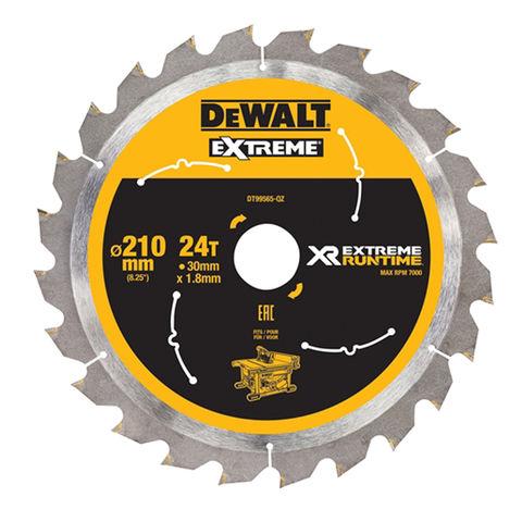 Image of DeWalt DeWalt XR FlexVolt DT99565-QZ Table Saw Blade 210x30mm 24T