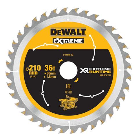 Image of DeWalt DeWalt XR FlexVolt DT99566-QZ Table Saw Blade 210x30mm 36T
