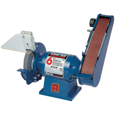 "Image of Clarke Clarke CBG6SB 6"" Bench Grinder with Sander"