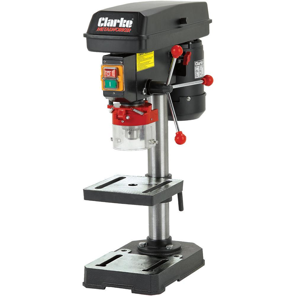 Bench Pillar Drill Part - 15: Clarke CDP102B Bench Mounted Drill Press (230V)