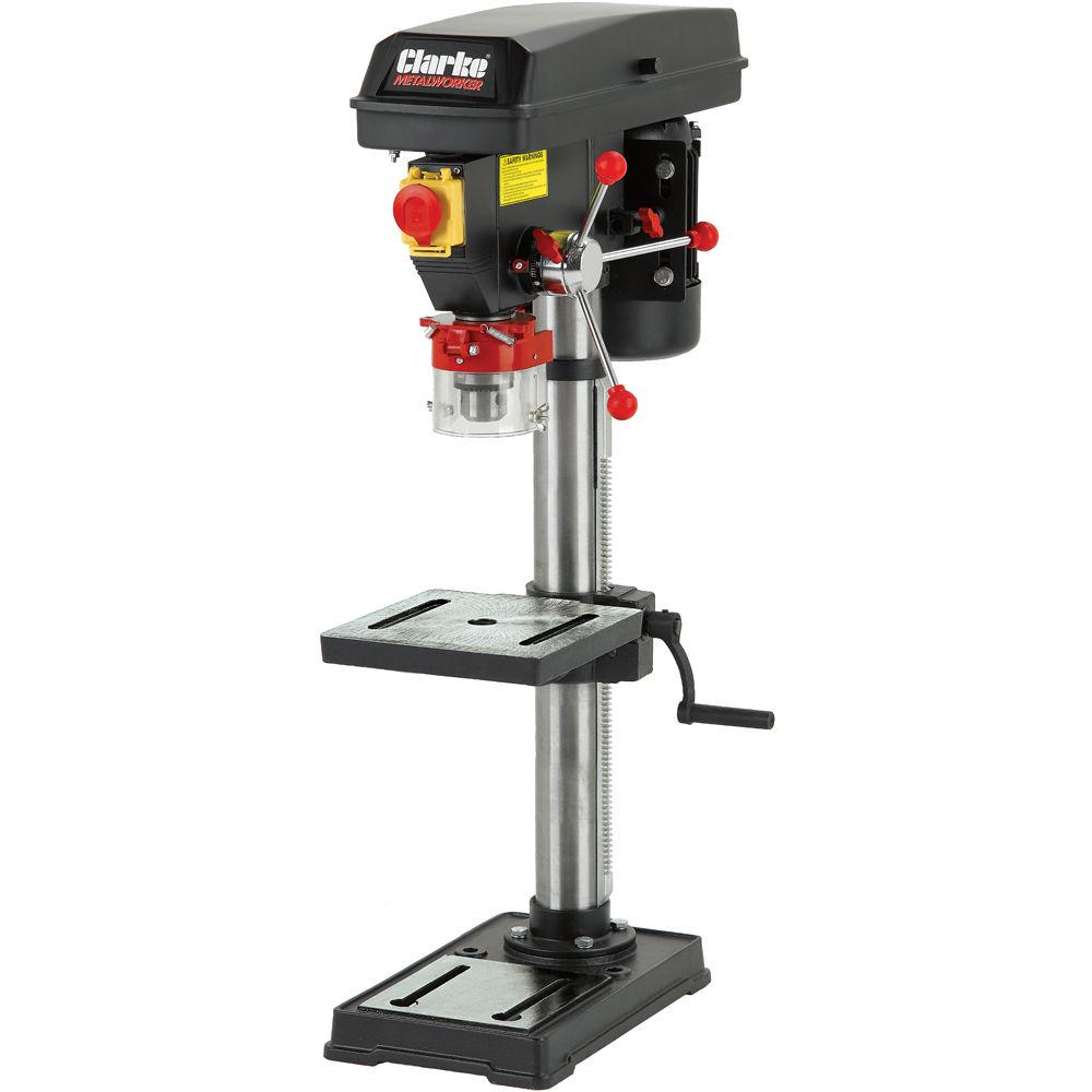 Superb Bench Pillar Drill Part - 13: Clarke CDP152B Bench Mounted Drill Press (230V)