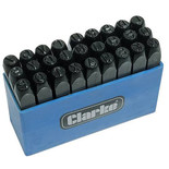 Clarke ET145 Letter Punch Set