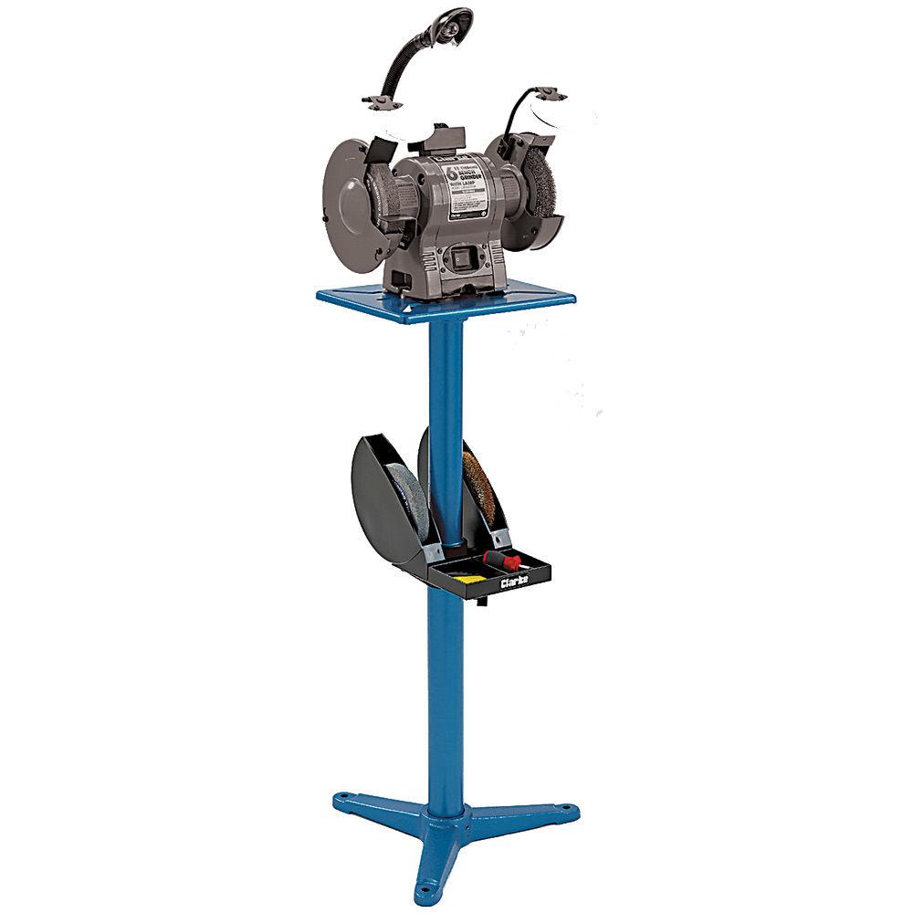 Terrific Clarke Cbgs2 Adjustable Bench Grinder Stand Machine Pdpeps Interior Chair Design Pdpepsorg
