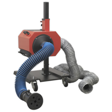 Image of Sealey Sealey EFS/93 Exhaust Fume Extractor with 6m Ducting