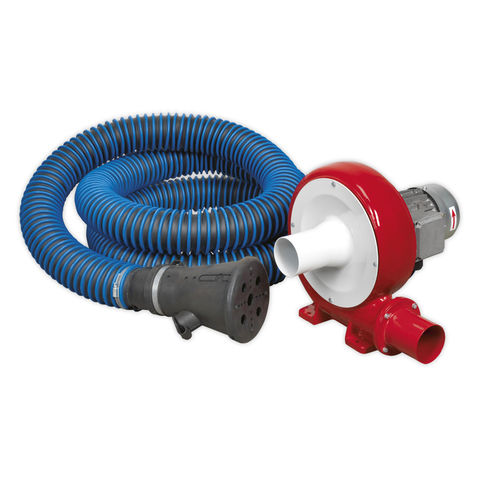 Image of Sealey Sealey EFS101 Exhaust Fume Extraction System 230V - 370W (Single Duct)