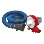 Sealey EFS101 Exhaust Fume Extraction System 230V - 370W (Single Duct)