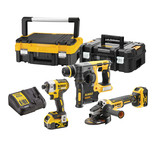 DeWalt DCK305P2T-GB 18V XR Brushless Triple Kit