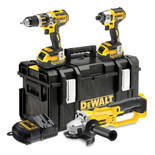 Dewalt DCK382M2 18V XR Cordless Li-ion Triple-pack (with charger & 2 batteries)
