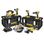 DeWalt DCK691M3 6 Piece 18V XR Li-Ion Power Tool Kit